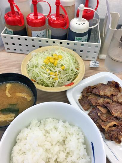160625松屋八重洲カルビ焼肉定食.jpg