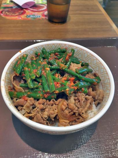 160714すき家東陽町ニンニク牛丼1.jpg