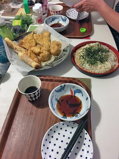 171007天弘天ざる夕食1.jpg